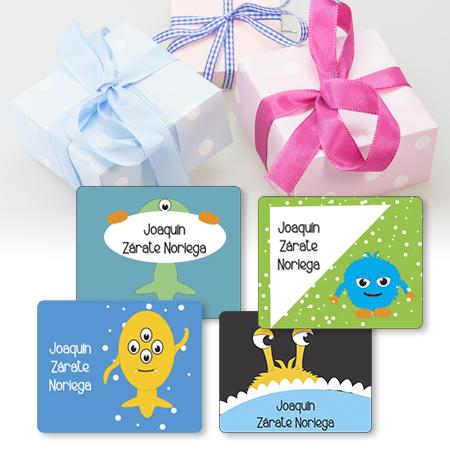 Etiquetas para regalo