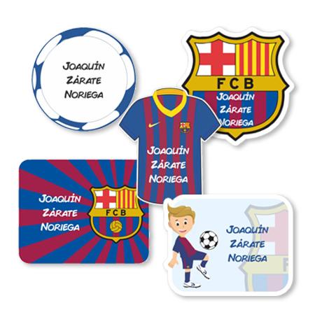 barcelona Etiquetas para regalo
