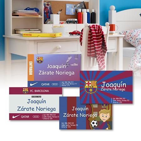 barcelona Tarjetas personalizadas