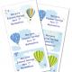 balloon Etiquetas para cuaderno
