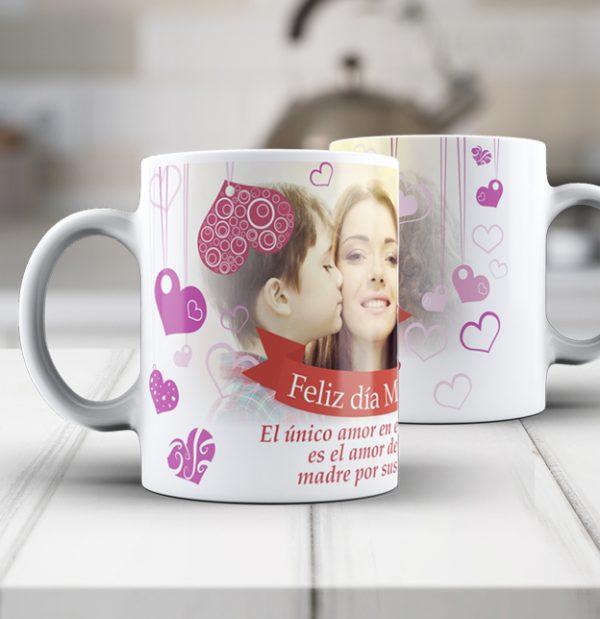 taza personalizada dia de la madre