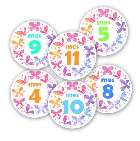 Baby Stickers niña