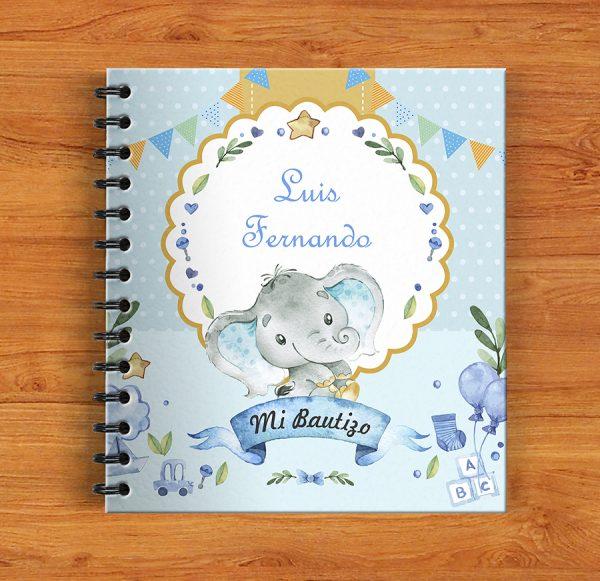 album de fotos bautizo elefante