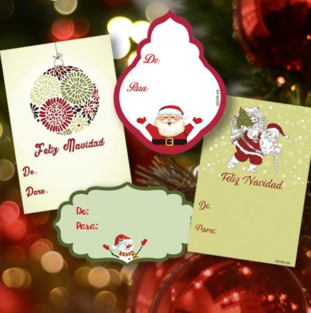 tarjetas navidad alcole