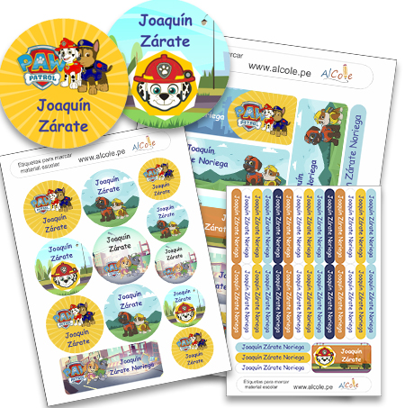 paw patrol pack school