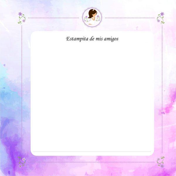 album comunion niña