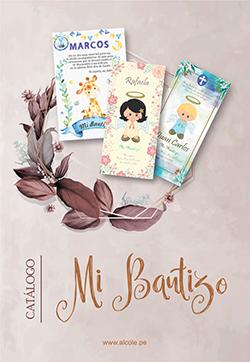 catálogo bautizo