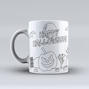 taza halloween
